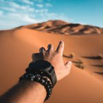 Un chemin nouveau dans le désert